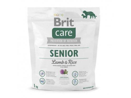 Brit Care Senior lamb & Rice Корм для собак старше 7 лет с ягненком и рисом