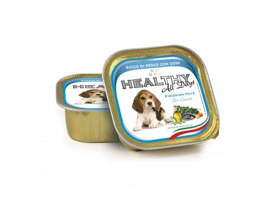 Healthy All Days FISH & EGGS PUPPY влажный корм для щенков РЫБА с ЯЙЦАМИ, паштет