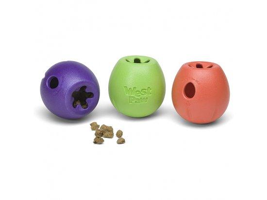 West Paw RUMBL игрушка-кормушка для собак малых пород 8 см
