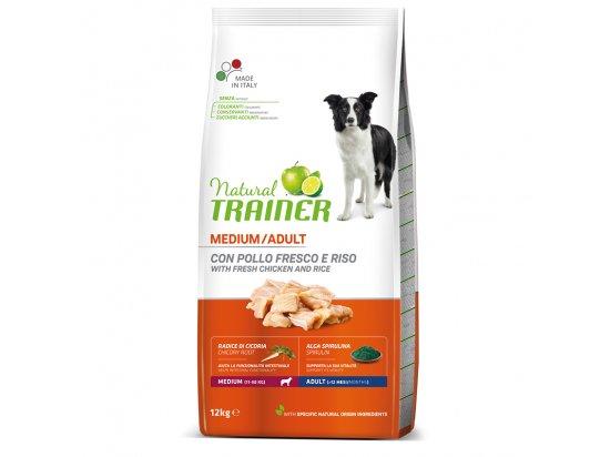 Trainer Natural Adult Medium - корм для взрослых собак средних размеров с курицей, рисом и алоэ-вера
