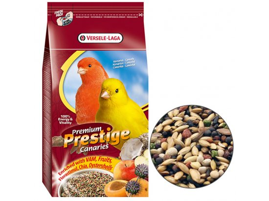 Versele-Laga (Верселе-Лага) Prestige Premium CANARY (КАНАРЕЙКА) зерновая смесь корм для канареек