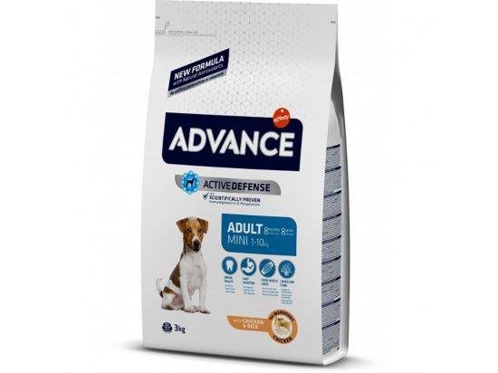 Advance (Эдванс) Dog Mini Adult - корм для взрослых собак маленьких пород (с курицей и рисом)