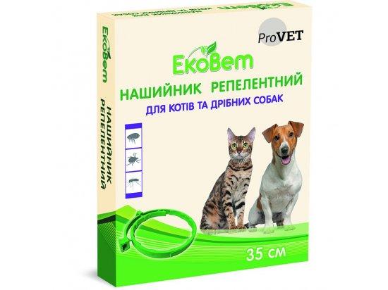 ProVET ЭкоВет Ошейник от внешних паразитов для котов и собак мелких пород, 35 см