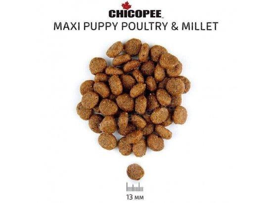 Chicopee CNL PUPPY MAXI POULTRY & MILLET сухой корм для щенков крупных пород ПТИЦА И ПРОСО