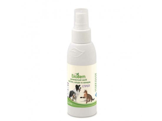 ProVET ЭкоВет Спрей для собак и кошек от внешних паразитов