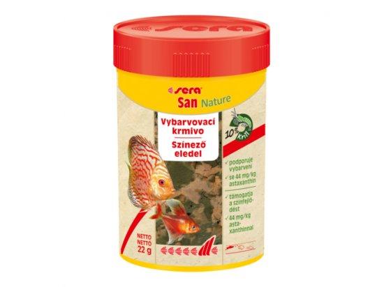 SERA San Nature (Сера Сан) корм для усиления окраса всех видов аквариумных рыб