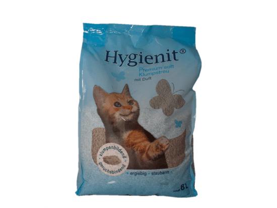 Pretty Cat (Претти Кет) Hygienit Premium наполнитель бентонитовый с ароматом детской присыпки
