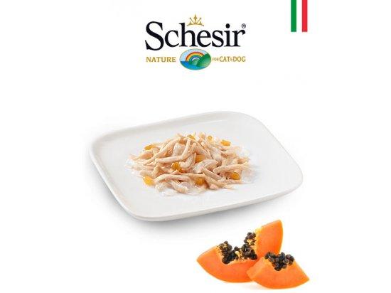 Schesir (Шезир) консервы для собак Цыпленок и папайя