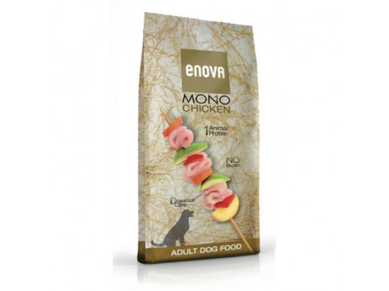 Enova Mono CHICKEN корм для взрослых собак КУРИЦА