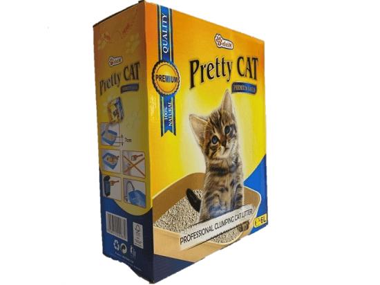 Pretty Cat Premium Gold наполнитель для кошек бентонитовый без аромата, 6 л (5 кг)