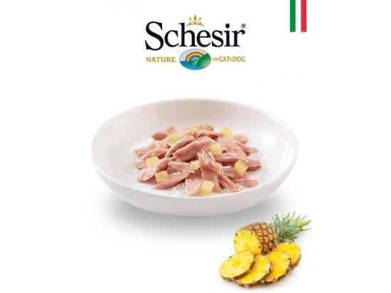 Schesir (Шезир) консервы для кошек Тунец с ананасом