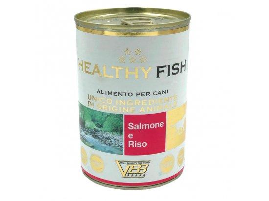 Healthy Fish SALMON & RICE влажный корм для собак ЛОСОСЬ и РИС, паштет