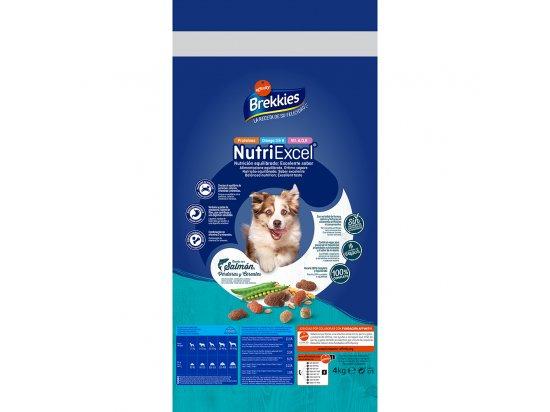 Brekkies (Бреккис) Excel Mix Fish - корм для взрослых собак с лососем, тунцом и овощами