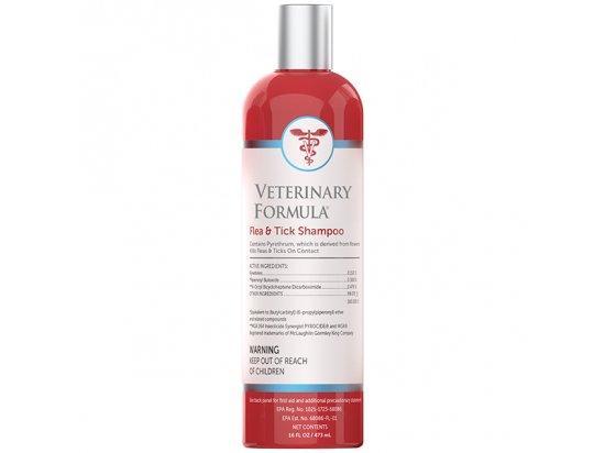 Veterinary Formula Flea & Tick Shampoo - шампунь ПРОТИВ БЛОХ и КЛЕЩЕЙ для собак и кошек 473 мл