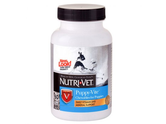 Nutri-Vet (Нутри-Вет) Puppy-Vite - витамины для щенков 60 табл