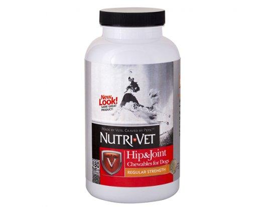 Nutri-Vet (Нутри Вет) Hip & Joint 1 (Regular) СВЯЗКИ И СУСТАВЫ (РЕГУЛЯР) 1 уровень глюкозамин, хондроитин, МСМ для собак