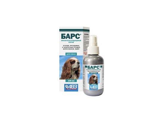 АВЗ Барс Спрей противопаразитарный для собак