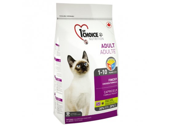 1st Choice (Фест Чойс) ADULT FINICKY (ЭДАЛТ ФИНИКИ) корм для котов
