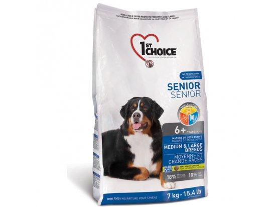 1st Choice (Фест Чойс) SENIOR MEDIUM & LARGE BREED (СОБАКИ СРЕДНИХ И КРУПНЫХ ПОРОД СЕНЬОР) корм для собак от 6 лет
