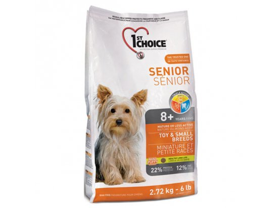 1st Choice (Фест Чойс) SENIOR TOY & SMALL BREED (СОБАКИ МИНИ И МАЛЫХ ПОРОД СЕНЬОР) корм для собак старше 8 лет