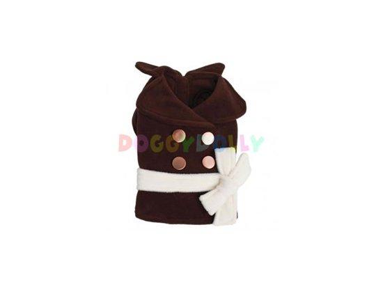 DoggyDolly Пальто для собак коричневое