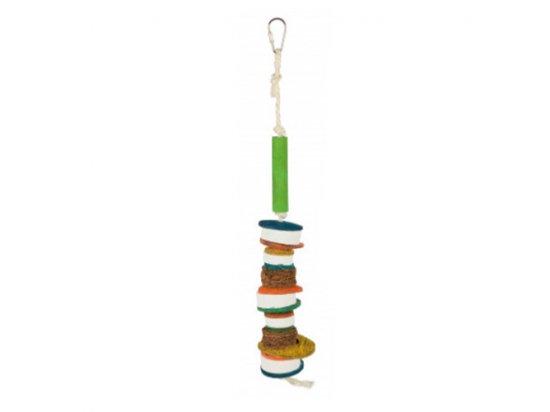 Trixie игрушка мультиколор с лавой для попугаев 35 см (58989)