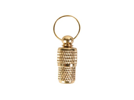 Trixie Медальон-адресник золотой (2278)