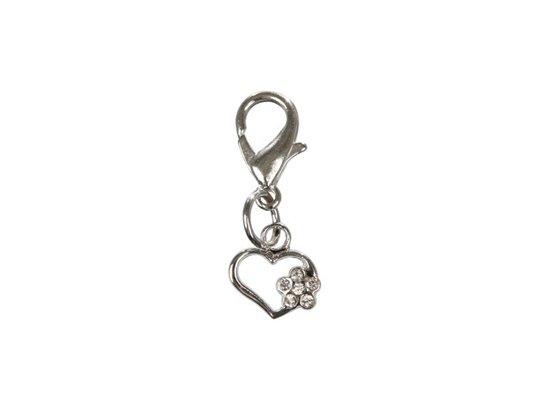Trixie Медальон-брелок со стразами сердечко (21983)