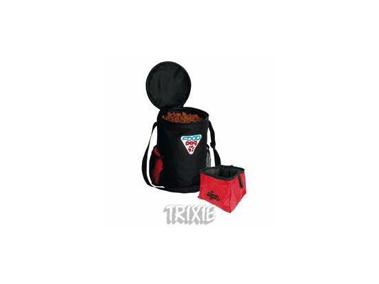 Trixie Travel Set Дорожный набор - сумка для корма и контейнер для воды (2490) (СКИДКА 10% - РАСПРОДАЖА)