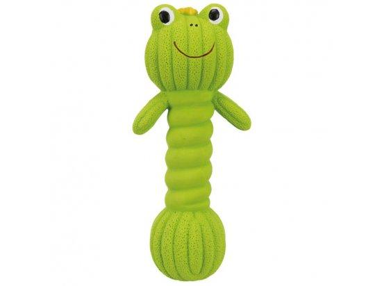 Trixie игрушка гантель для щенков и взрослых собак, латекс, 18 см