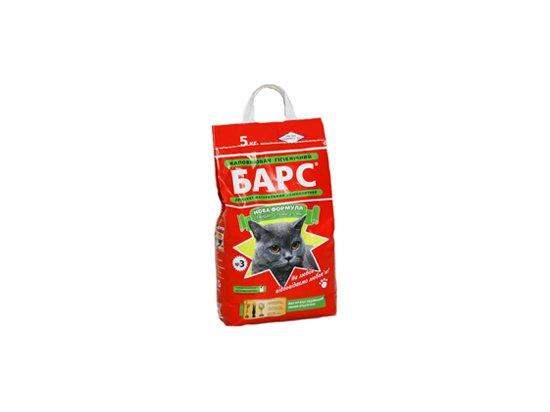 БАРС №3 стандарт с ароматом лаванды - наполнитель для кошачьего туалета, 5 кг