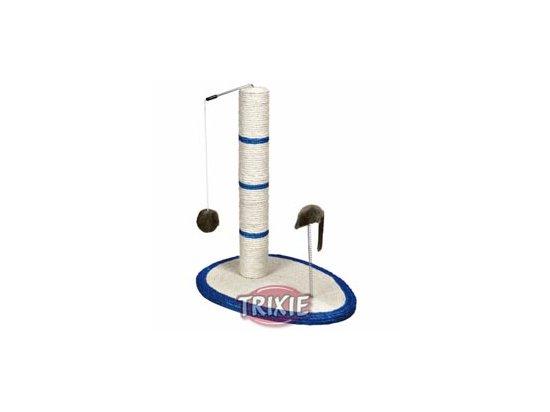 Trixie 'Scratch Me' Когтеточка-столбик с подставкой и мышкой на пружине (4306)