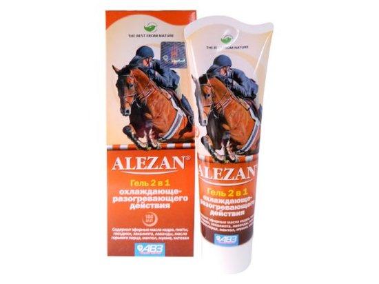 Alezan (Алезан) гель охлаждающе-разогревающий для лошадей