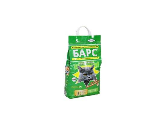 БАРС №4 классик - наполнитель для кошачьего туалета, 5 кг