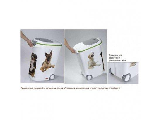 Curver PetLife Food Box 54 L (20 кг) - Контейнер для хранения сухого корма