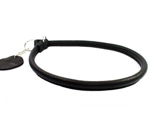 Collar SOFT - Ошейник-удавка рывковая для собак ЧЕРНЫЙ