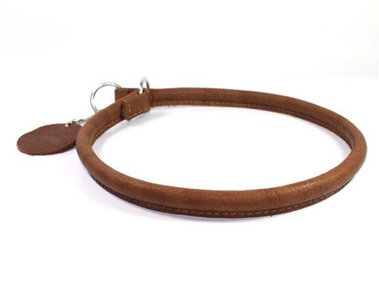 Collar SOFT - Ошейник-удавка рывковая для собак  КОРИЧНЕВЫЙ