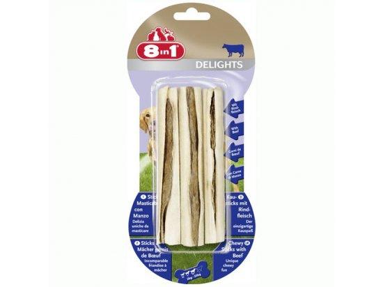 8in1 (8 в 1) Delights жевательные палочки с говяжьим мясом - лакомства для собак