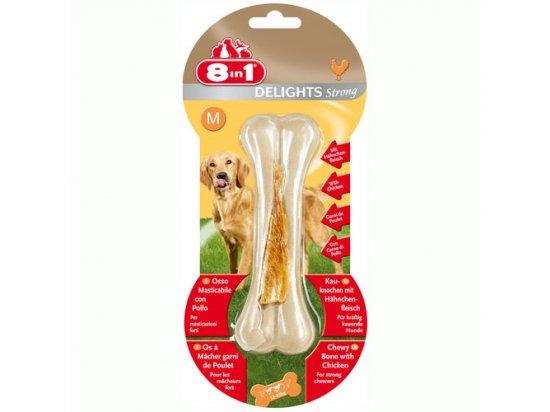 8in1 (8 в 1) Delights Strong Кость с куриным мясом Усиленная - лакомства для собак