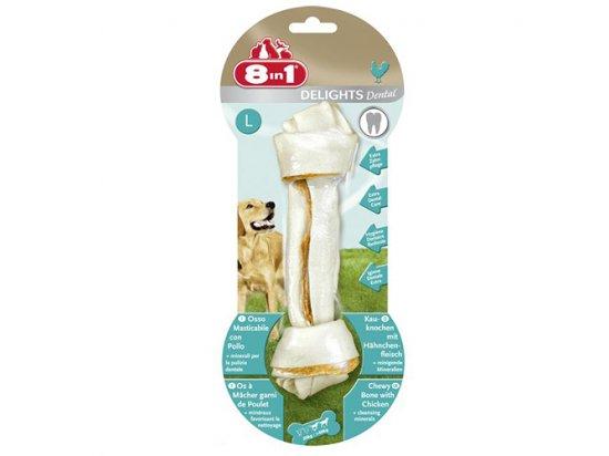 8in1 (8 в 1) Dental Delights кость для очищения зубов с мясом и минералами - лакомство для собак