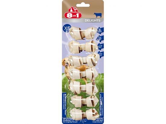 8in1 Delights Bones XS Кость с говядиной - лакомства для собак