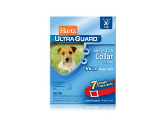 Hartz Ultra Guard Flea s Tick Collar - ошейник для собак от блох и клещей, красный 50 см (Н91581)
