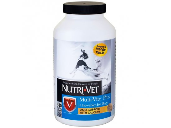 Nutri-Vet MULTI-VITE PLUS витамины для собак
