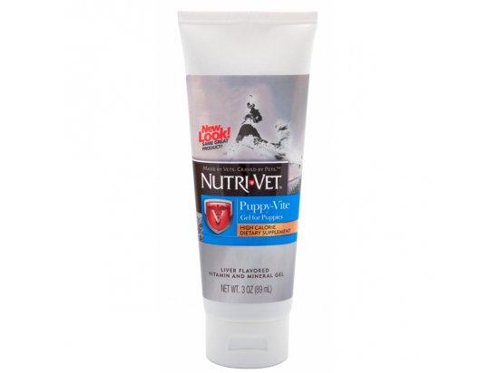 Nutri-Vet (Нутри-Вет) ПАППИ-ВИТ ГЕЛЬ (Puppy-Vite Gel) витаминный гель для щенков 89 мл
