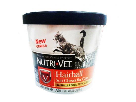 Nutri-Vet (Нутри-Вет) Hairball Formula ВЫВЕДЕНИЕ ШЕРСТИ комплекс для профилактики образования комков шерсти в желудке, 85 г