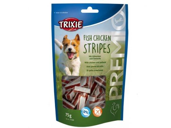 Trixie Premio Лакомство для собак, полоски курица и сайда