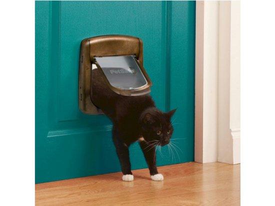 Staywell (Стейвeл) Дверцы для котов с механическим замком, под дерево