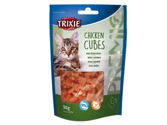 Trixie PREMIO Chicken Cubes - лакомство для кошек С КУРИЦЕЙ
