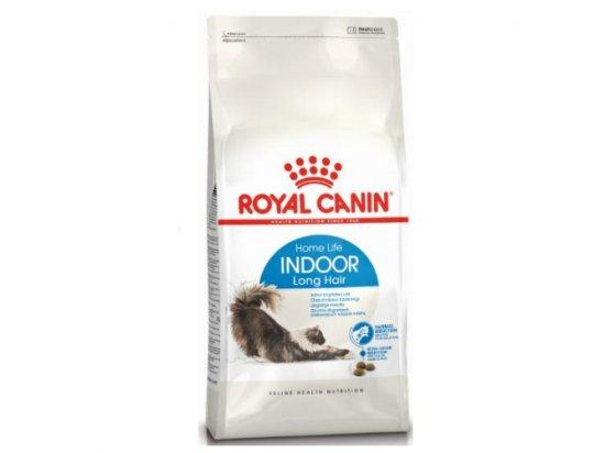 Royal Canin INDOOR LONG HAIR 35 (ИНДУР ЛОНГ ДЛЯ ДЛИННОШЕРСТНЫХ) сухой корм для кошек до 7 лет