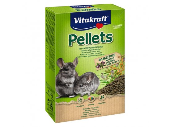 Vitakraft (Витакрафт) Pellets корм для шиншилл, 1 кг